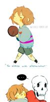 undertale doodles by Owlyjules