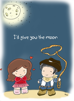 I'd give you the moon by Jexyla