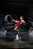 Girl btw wheels by Katkovskis