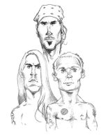 red hot chili peppers by pituman
