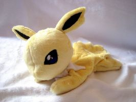 Jolteon Beanie Baby by FollyLolly