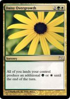 Daisy Overgrowth by WoodenOx