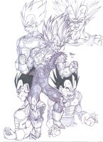 vegeta villain past by bloodsplach