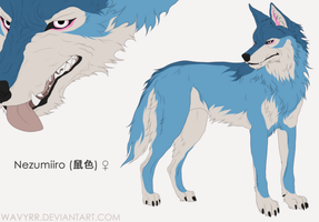Nezumiiro Reference Sheet 2015 by Wavyrr
