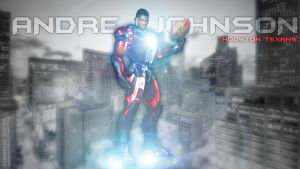 Andre Johnson is Ironman by Rubber-toe