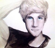 art trade: Niall by VidelsEnigma