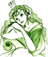 Gorgeous In Green by UndeadPrincess