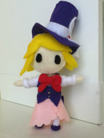Alice in Musicland Plushie: Rin by ha-nata