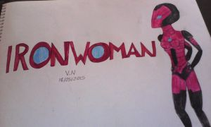 Iron Woman Wallpaper by VaderNihilus
