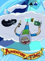 Adventure Time : Bungee jumping by kethien