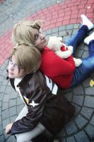 APH- Brothers by MystralCasterial