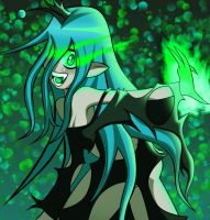 Human Queen Chrysalis by Lucky-JJ