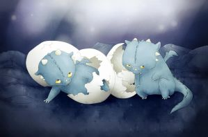 Hatchlings by Friendermen