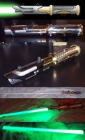 New LED Lightsaber by AnimeFlux