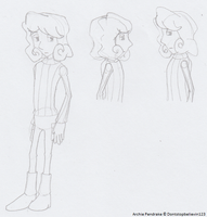 Archie Pendrake Practise Doodles by SamCyberCat