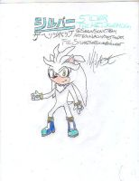 Silver the Hedgehog by Tonythunder