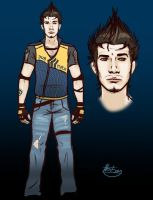 Alex Character-Costume Design by biscuit-the-great