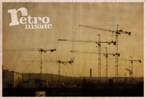 Crane + Retro-Inside by hairtonic