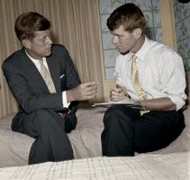 John and Robert Kennedy by KraljAleksandar