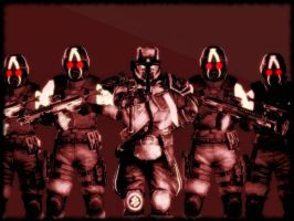 The Helghast Great Leader by quinoproductions