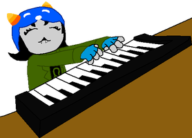 Keyboard Nepeta colour by CptNameless