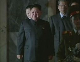 kim Jong Un Mourns at Father's funeral by ShitAllOverHumanity