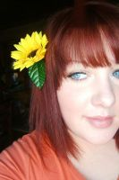 I Wore A Flower In My Hair. by theblueofmyoblivion