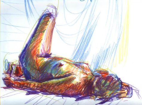Life drawing, Sept. 25 2006 by bigbigtruck