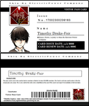 ShinRa Visitor Pass for Tim Drake by KitsuneNo16