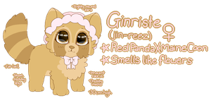 Grinriste Reference Sheet by Linthium