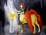 The Second Quest Begins by phantom-inker