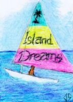 Sketch Card: Island Dreams - 5 by JasonShoemaker