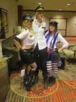 Animefest '13 - Panty and Stocking by TexConChaser
