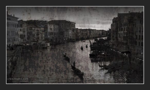 Canal Grande, Venice IT by BruceDownUnder