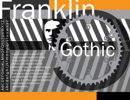 Franklin Gothic Sample Sheet by TheCrimsonWall
