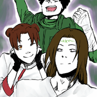 Team gai oekaki by ScarletDusk