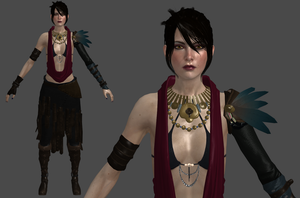 DAI Morrigan Default XPS (updated) by Padme4000