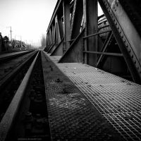 Last bridge before the station by antarialus