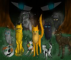 I fight with StarClan by shadowfeather01