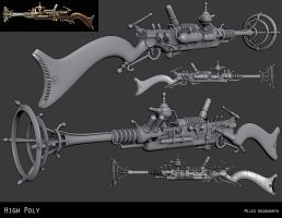 The Unnatural Selector- High Poly by 31883milesperhour