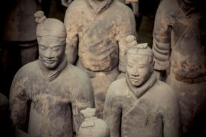 The Terracotta Soldiers by cathy001