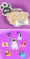 My Little Puggy: Snorting is Magic by Kristanni20X6