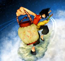 Rochan on a Cloud by BolDuck