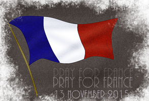 Pray for France by RMS-OLYMPIC