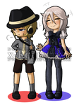 Tiny Totally Not Inanimate Object Cousins by x-Roulette-x