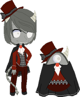 Creepy Egg Adopt **Hatched** by Timefang143