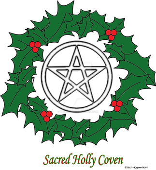 Sacred Holly Coven Emblem by Kagome26201