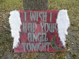 I Wish I Had Your Angel Tonight by coloradorebel