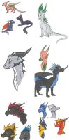 Sketchdump by TheDragonPhoenix