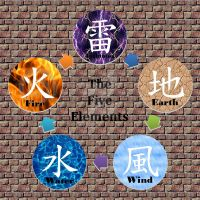 The Five Elements by Nelphyta